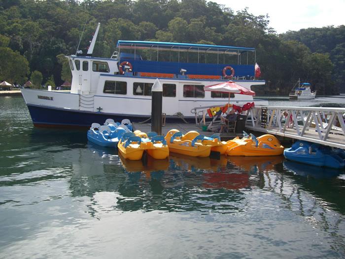 Bobbin Head Wharf with Merinda II Ferry