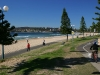 Wlak & Cycle Way Along Manly Beach Front