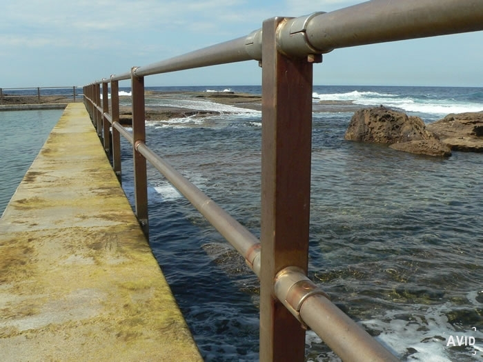 North Curl Curl Beach Ultra Strong Handrail