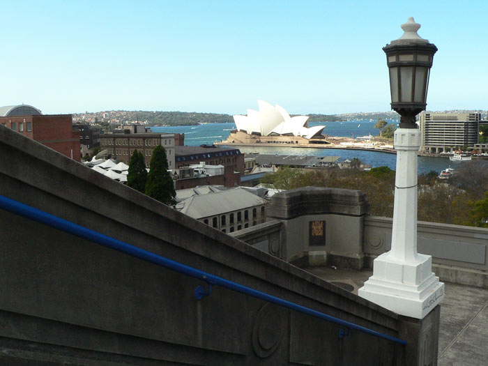 Opera House View From Bridge