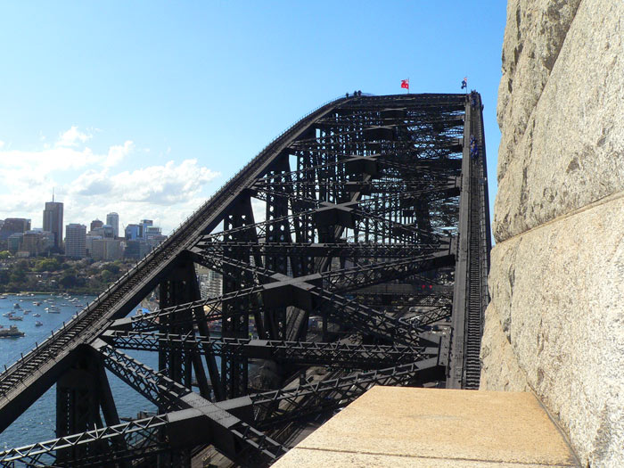 Sydney Harbour Bridge Different View