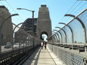 Sydney Harbour Bridge Walkway