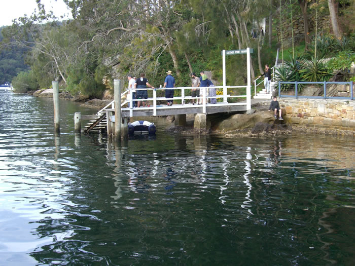 Cottage Point Wharf