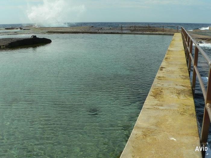 North Curl Curl Beach Ocean Swimming Pool