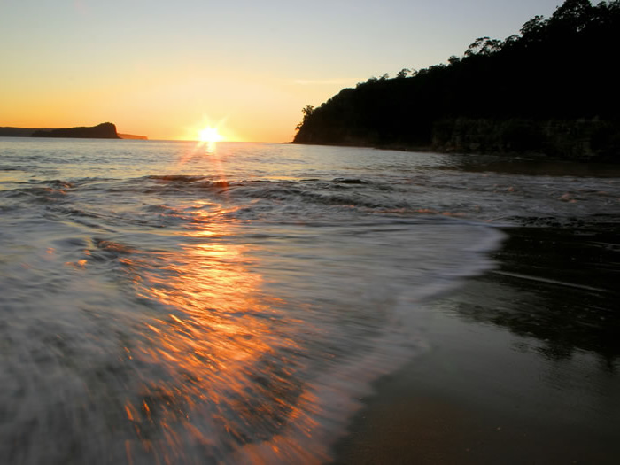 Sun Rise Over Pittwater